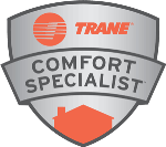 Stop's Heating and Cooling works with Trane Comfort Specialists for your heating and cooling needs.