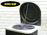 Protect your air conditioner with Kool Kap air conditioner covers, your air conditioners new best friend.